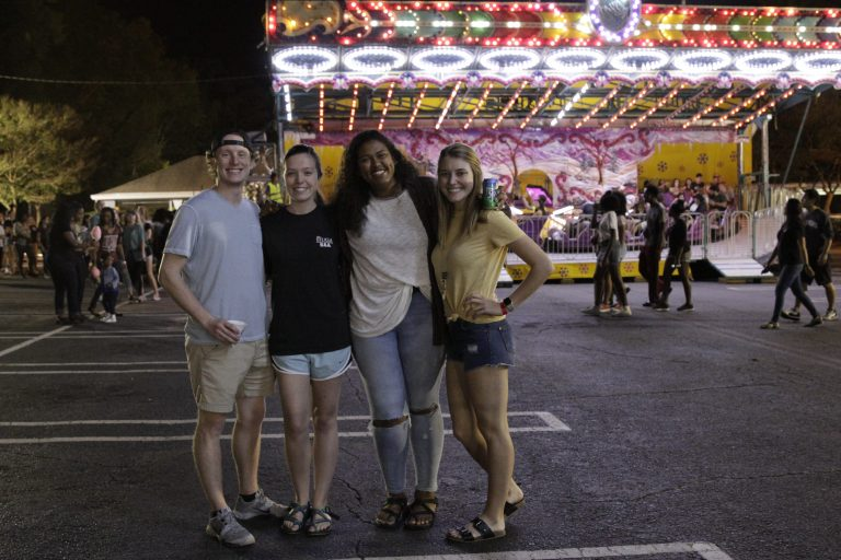 Photos were taken on Friday, October 13, 2017, in the Legion Field parking lot on the University of Geogia's campus in Athens, Georgia during the Carnival hosted by University Union. (Photo/ Zoe L. Smith, zoe.smith25@uga.edu)